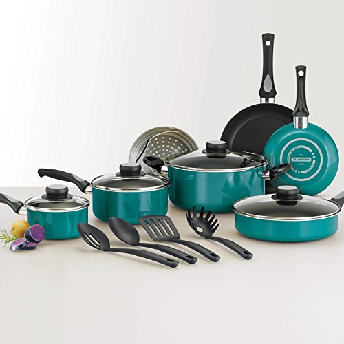 15-Piece Blue Teflon Coated Heat and Shatter Resistant Nonstick Cookware Set by Tramontina USA, Inc. (Image #7)