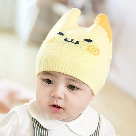 Myzixuan Y bebé Sombrero otoño Invierno niñas Caliente Sombrero de ...