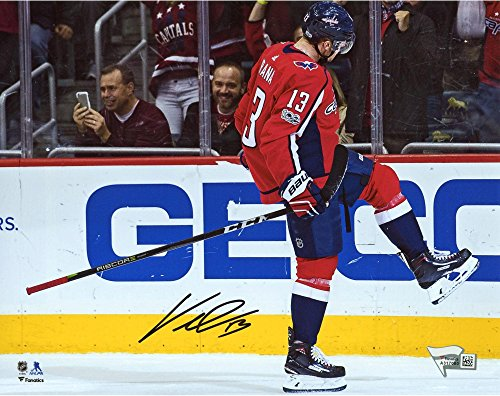 "Jakub Vrana Washington Capitals Autographed 8"" x 10"" Goal Celebration Photograph - Fanatics Authentic Certified by..."