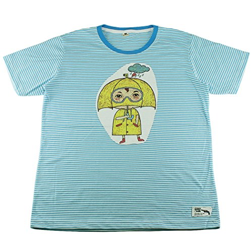 Gangster Cartoon Character (Japan Cartoon Character Striped T-Shirt / BG15.1 size)