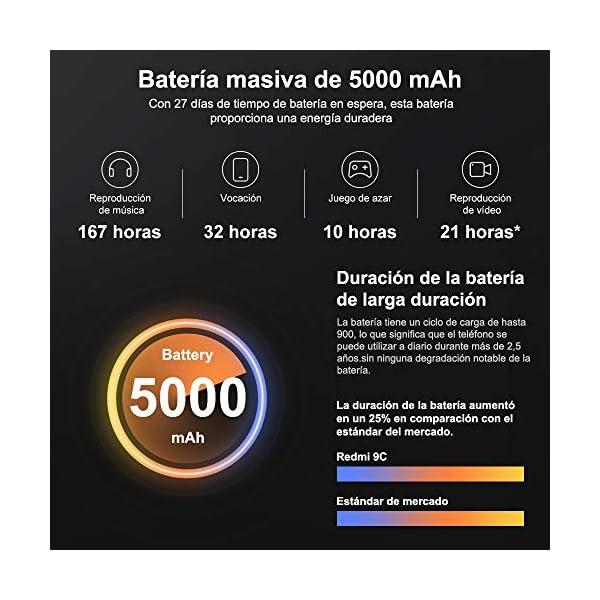 SMARTPHONE XIAOMI REDMI 9C 6,53″ FHD+ 2GB/32GB 4G DUALSIM A10.0 ORANGE