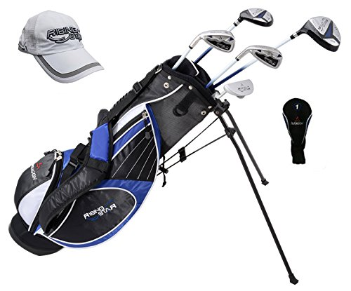 Paragon Golf Youth Golf Club Set, Blue, Ages 11-13 - Left Handed by Paragon Golf