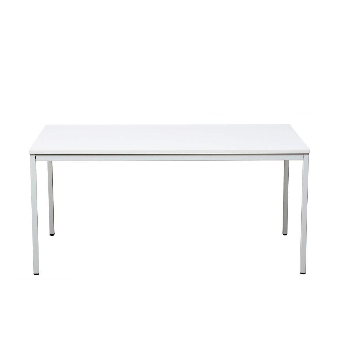 Certeo - Mesa rectangular (75 x 200 x 80 cm), color blanco: Amazon ...