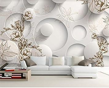Yosot 3D Tapeten Fototapete Benutzerdefinierte Wohnzimmer Wandbild Maple  Leaf Von Retro Gemälde Malerei 3D Wandbild