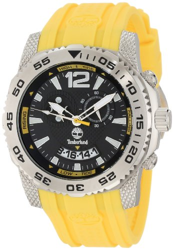 Timberland Men's 13319JS/02 Hydroclimb Analog Multifunction 3 Hands Date Tide Moon Watch