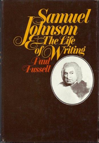 Samuel Johnson : The Life of Writing