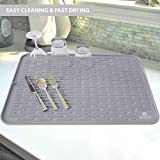 Silicone Dish Drying Mat - 23 x 18 - Extra Large
