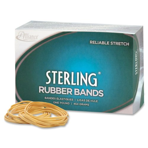 UPC 071815241957, Alliance Sterling Rubber Bands, Size 19, 1 lb. Box (Approx. 1700 Bands)