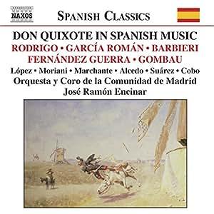 Don Quixote in Spanish Music