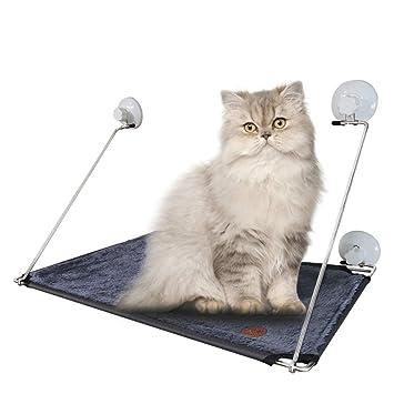 Hamacas Hamaca Gris Para Mascotas Ventosa Hamaca Para Mascotas Ventana De Cristal Hamaca Para Gatos Mascotas Para Gatos Cama Colgante Plataforma Colgante ...