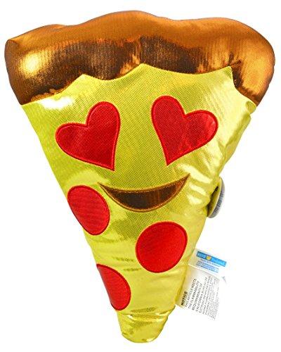 (Emoji Heart Eyes Smiling Pizza Large 15