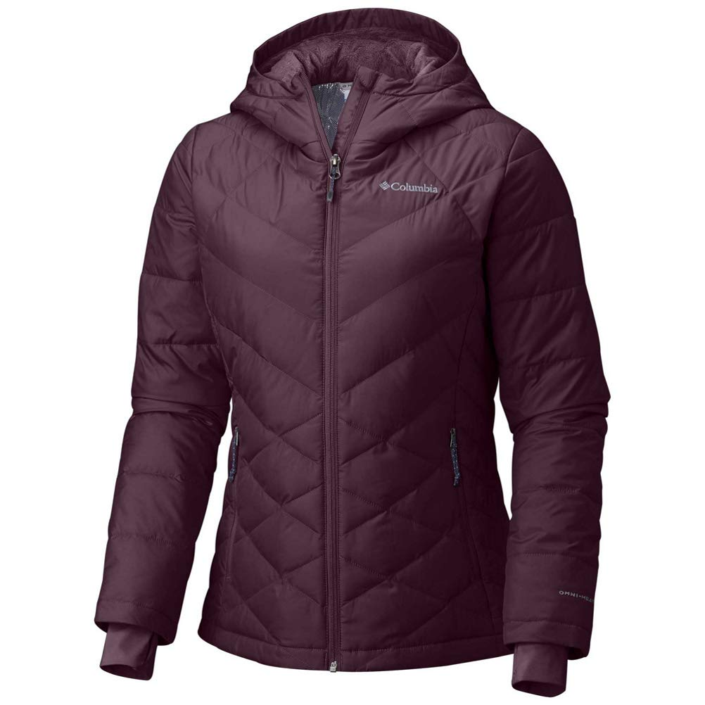 Columbia Women's Plus Size Heavenly HDD Jacket, Black Cherry, 2X by Columbia