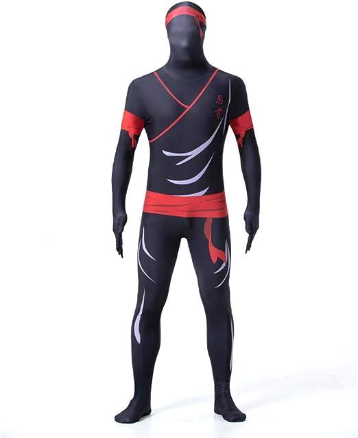 Ropa De Hombre Cosplay Ninja Print Jumpsuit Medias Disfraz Disfraz ...