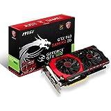MSI V320-004R GTX960 NVIDIA Gaming Grafikkarte (PCI-e, 2GB GDDR5, HDMI, DVI, 1 GPU)