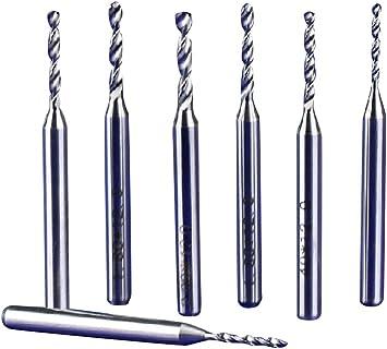 10pcs Circuit Board PCB Drill Bits Carbide Tungsten Steel Twist Drill Bits tt