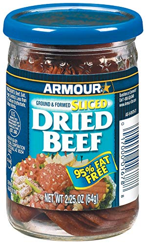 - Armour Sliced Dried Beef, 2.25 Ounce