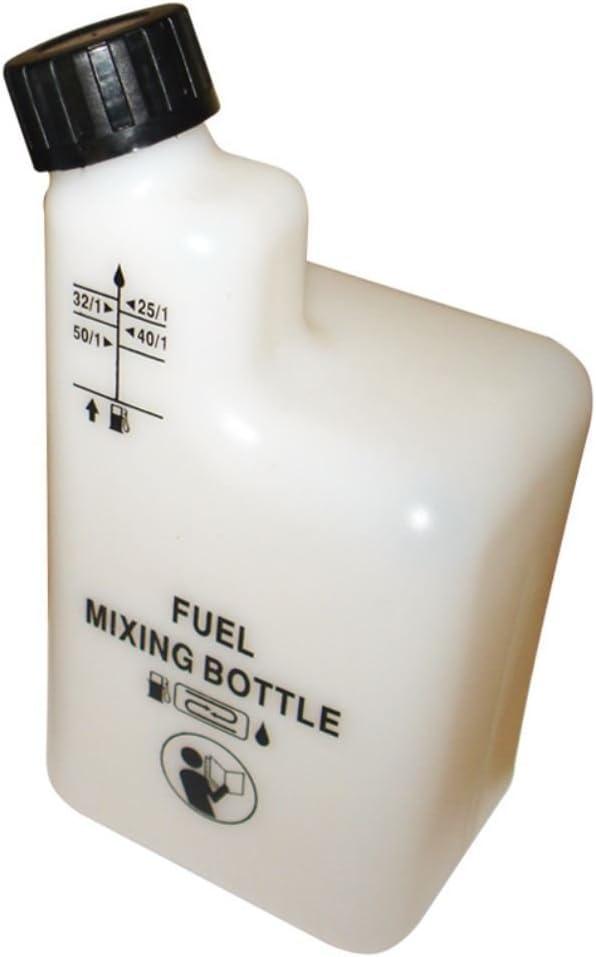 Botella de mezcla de gasolina de 2 tiempos para cortacésped o motosierra de 25:1 40:1 50:1