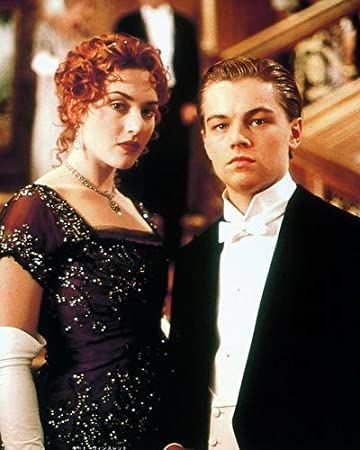 Amazon.de: Leonardo DiCaprio Kate Winslet in Kleid Titanic 10 x 8 ...