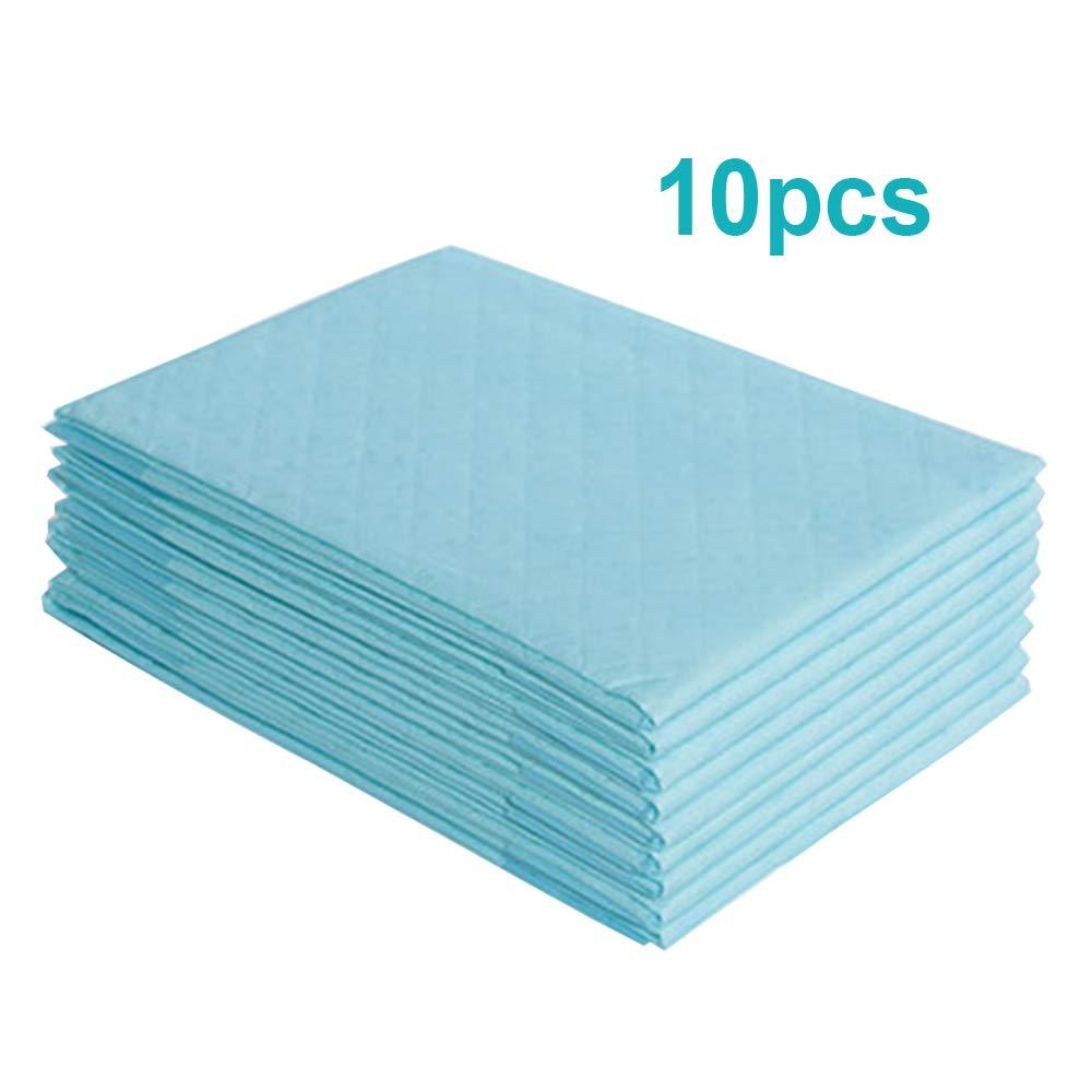 "Carejoy 10PCS Disposable Underpad,23"" x 35"" Portable Breathable Absorbent Diaper Nursing Pad Adult, Baby"