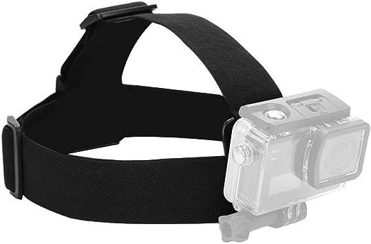 Headband Head Strap Belt Camera Mount Holder Elastic Adjustable for Action Sport Camera Accessory