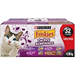 Purina Friskies Turkey Experience Wet Cat Food Variety Pack - 156 g (32 Pack), 1 Pack