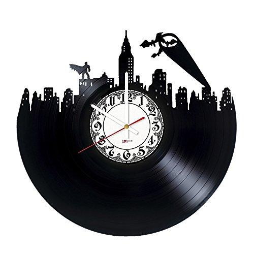 Batman Superheroes Handmade Vinyl Record Wall Clock - Get un