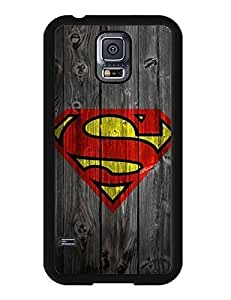 6708274M277255693 Samsung Galaxy S5 I9600 case, Superman Cartoon Design Snap-on Cool Case Cover Fit for Galaxy S5