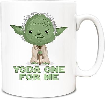 Cute Baby Yoda Alien Mug For Him Or Her Husband Wife Boyfriend Girl friend