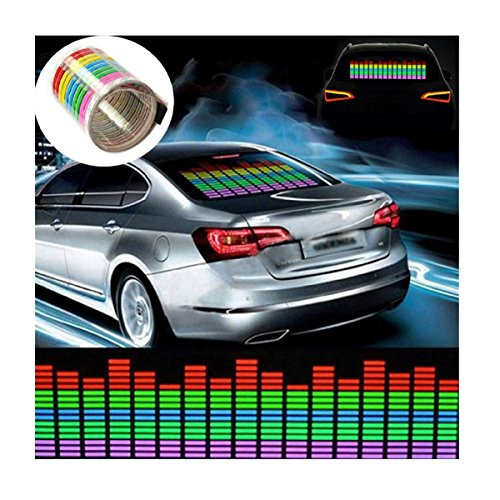 Fashion 45x11CM Sticker Activated Equalizer product image