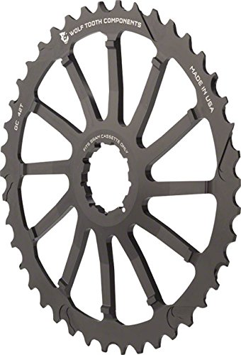 Bicycle Components & Parts Wolf Tooth Components 42t Gc Cog-for Sram 11-36 10-speed Cassettes-black-new Elegant In Style