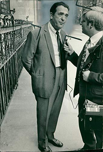 Vintage photo of Robert Maxwell