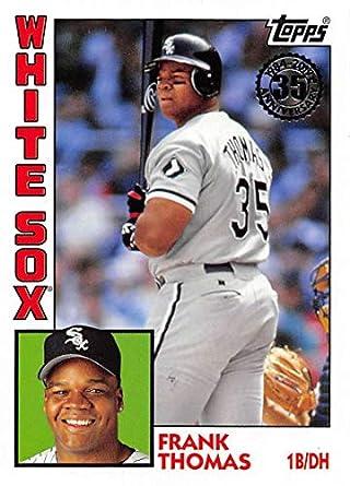 b89704ffd2d 2019 Topps 1984 Topps Baseball  T84-30 Frank Thomas Chicago White Sox  Official MLB