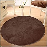 Pro Space Round Area Rug Chair Floor Carpet Plush Mat for Home Or Office Desk Chair Floor Protection Home Decor,Dia 30inch
