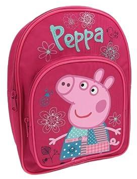 design intemporel 8dc0f e16c1 Peppa Pig Cartable, Rose (Rose) - PEPPA001191