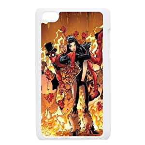 Deadpool Comic iPod Touch 4 Case White 218y-906787