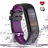 Fitness Tracker Watch, Smart Bracelet IP67 Waterproof Color Screen Bluetooth Smartwatch Pedometer