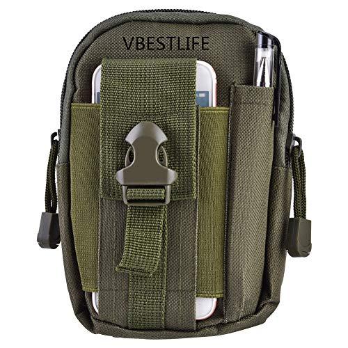 Tactical Molle Bolsa Bolsa Durable Multifuncional Tácticas Portátiles Al Aire Libre Bolsas de Cintura Deportes Bolsa de...