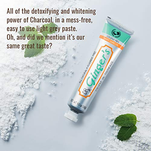 Toothpaste with Charcoal Extra | Fluoride Healthy Gums Coconut Taste