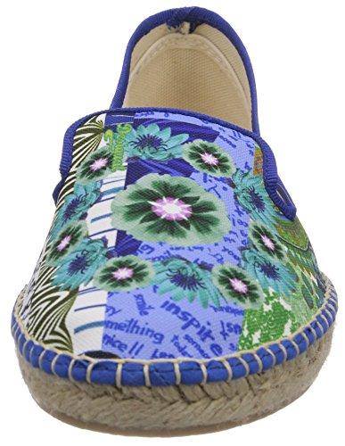 Turchese Donna Desigual Mika Espadrillas T basse Shoes gZCRqH