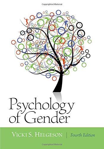 Psychology of Gender: Fourth Edition