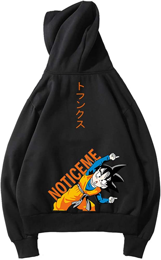 Dragon Ball Pullover Fall Winter Casual Sweater Comfortable Pullover Fashion Sports Hooded Sweatshirts Unisex
