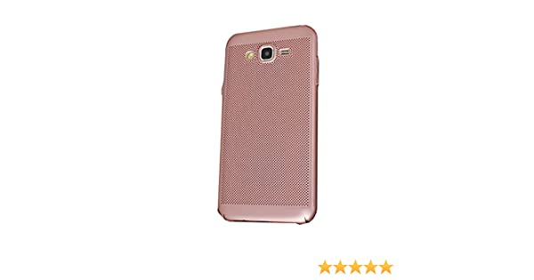 Yunbaozi Funda Compatible para Samsung Galaxy J5 2015 Hard Protective Case Carcasa Matriz Agujero Pequeño Anti Choque Antideslizante Carcasa Samsung ...