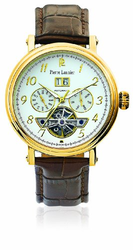 Pierre Lannier - Wristwatch, Analog Automatic, Leather, Man