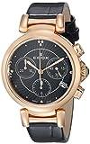 Image of Edox Women's 10220 357RC NIR LaPassion Analog Display Swiss Quartz Black Watch