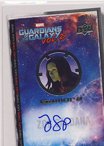 2017 Guardians of the Galaxy Series 2 Trading Card Set Autograph MT15 Zoe Saldana