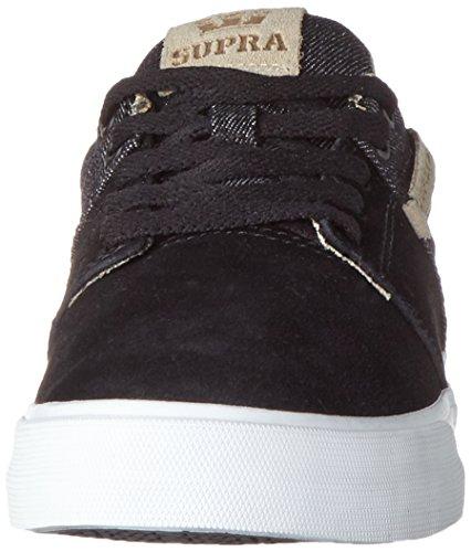 Supra Stacks Vulc Ii - Zapatillas de casa Hombre Schwarz (Black-White)