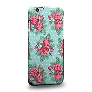 """The most popular Art Flower Roses In Blue Pattern Protective Snap-on Hard Back Case Cover for Apple iphone 6 4.7"""""""