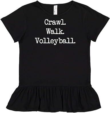 Walk - Toddler//Kids Long Sleeve T-Shirt Mashed Clothing Crawl Volleyball