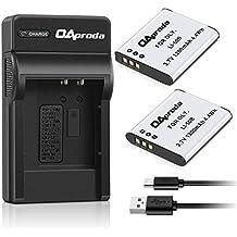 OAproda LI-50B Battery (2 Pack) & Micro USB Charger for Olympus SZ-15, SZ-16 iHS, SZ-31MR iHS,SP-800UZ, SP-810UZ, Tough 6000,TG-630 iHS,TG-820 iHS,TG-830 iHS,TG-850, TG-870,VR-370,VR-340,VR-350, XZ-10