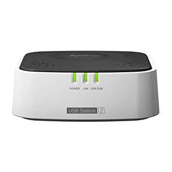 Synology SUS2 USB Station 2 NAS Server for Home and Small Workgroups